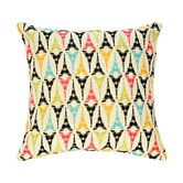 Tout Eiffel Fluorescent Tapestry Pillow