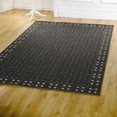 Florence Trinity Black Contemporary Rug/Runner