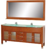 "Daytona 71"" Double Bathroom Vanity Set"