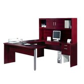 In Space U-Shape Desk with Hutch