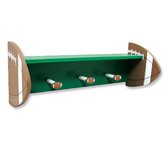 "Football 24"" Shelf with Peg Hooks"