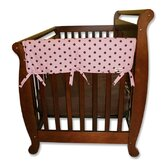2 Pack of Maya Dot 27&quot; Side Crib Rail Covers