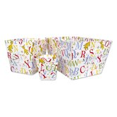 Dr Seuss ABC 3 Piece Storage Bin Set