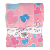 Groovy Love Receiving Blanket