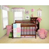 Cupcake Crib Bedding Collection