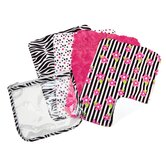 Zahara Zipper Pouch and Cloths Gift Set