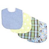 Baby Barnyard Bouquet Bib (Set of 4 Pack)