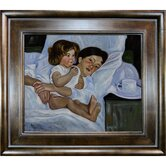 Breakfast in Bed Canvas Art by Mary Cassatt Traditional