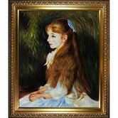 Irene Cahen D'Anvers (1872-1963), 1880 Canvas Art by Pierre Auguste Renoir Traditional