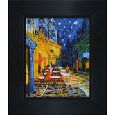 Cafe Terrace at Night Canvas Art by Vincent Van Gogh Modern