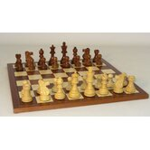 Sheesham French-Sapele Chess Set