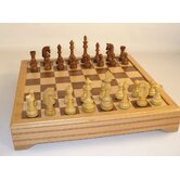 Traditional Russian with Chest Chess Set