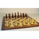 Rosewood Camelot on Padauk Chess Board