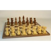 Sheesham Lardy Classic on Walnut Chess Board