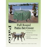 Striped Patio Set Cover
