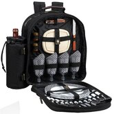 Classic Picnic Backpack With Four Place Settings