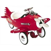 Sky King Pedal Plane in Red