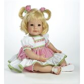 Baby Doll &quot;Polka Dot Rose&quot; Light Blonde Hair / Brown Eyes