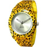 42mm Heraclitus Ladies Watch in Yellow Circle Case