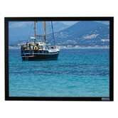 BriteWhite Opaque Vu-Easy Fixed Frame Screen - 100&quot; diagonal Video Format