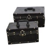 Small Treasure Chest (Set of 2)