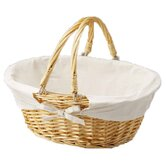 Oval Willow Basket