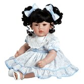 "Adora ""Little Lady In Blue"" Doll with Black Hair / Brown Eyes"
