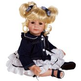 "Adora ""Denim and White"" Doll with Light Blond / Brown Eyes"