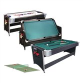 7'  3-in-1 Black Pockey� Game Table
