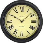 Lascelles Station Clock in Black