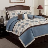 Tender Blossom Comforter Set (6 Piece)