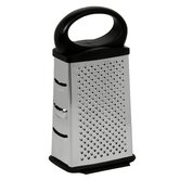 4 Sided Grater with Black Handle