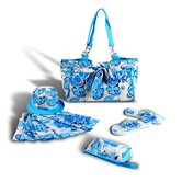 Beach Jocelyn tote Bag (Set of 5)