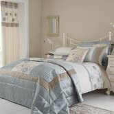 Alicia Duvet Cover Set in Duck Egg