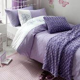 Flutterbye in New Year Duvet Cover Set in Lilac
