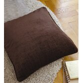 CL Home Plain Chenille Polyester Cushion Cover
