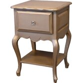 Provence 1 Drawer Nightstand
