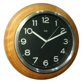 Wall Clock in Classic Black