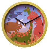 Children Wall Clock with Dinosaurs