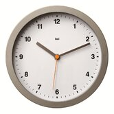 Studio Wall Clock in Helio White