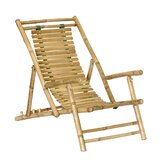 Bamboo Recliner Beach Chair