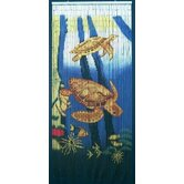 Sea Turtle Scene Curtain