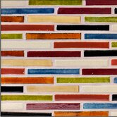 "Twin Cities 4"" x 12"" Handmade Mosaic Blend in Signature Stix"