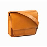 Vachetta Executive Laptop Sling Briefcase in Tan