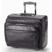 Tuscan Business Class Rolling Laptop Bag in Black