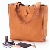 Vachetta Oversized Tote in Tan