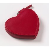 Heart Coin Purse in Red