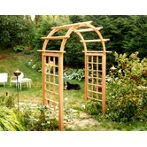 Cedar Arched Arbor