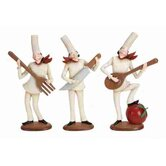 Loft Polystone Chef Statues (Set of 3 Assorted)