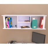 Laura Wall Mounted Hutch with 2 Shelves